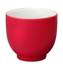 Tea Cup - 7oz Red